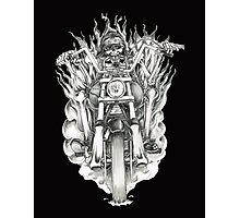 Forever a biker RH Photographic Print