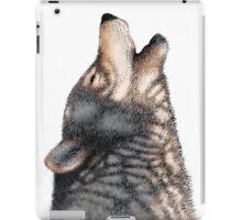 Howling wolf iPad Case/Skin