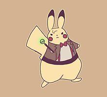 DrWho Pikachu by zerojigoku
