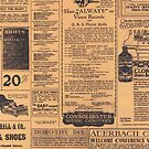Old Newspaper Page Look by CroDesign
