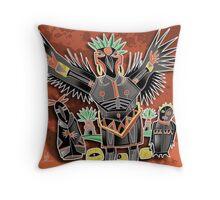 crowchina Throw Pillow