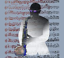 Saxophonist Score by Bluesax