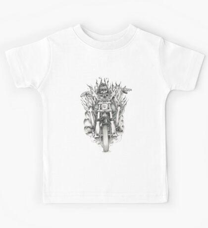 Forever a biker RH Kids Tee