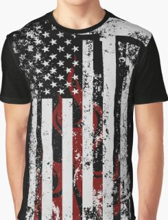 American Firefighter Graphic T-Shirt