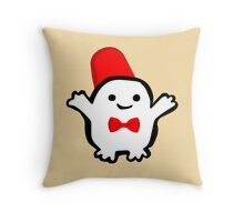 Adipose with fez Throw Pillow