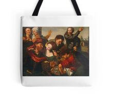 The Calling of Matthew ,  Workshop of Jan Sanders van Hemessen (Netherlandish, active Tote Bag