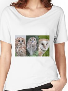 Trio of Owls Women's Relaxed Fit T-Shirt