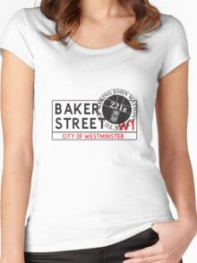 Bring John Watson Back to 221b Women's Fitted Scoop T-Shirt