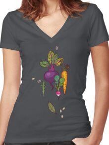 Gardener's dream Women's Fitted V-Neck T-Shirt