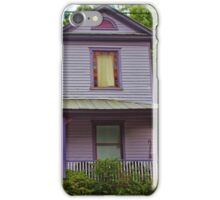 Quirky Purple House iPhone Case/Skin