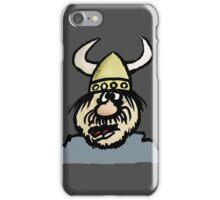 Shocked Viking Cartoon iPhone Case/Skin