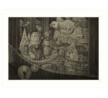 I Can Feel the Secrets on the Stage Art Print