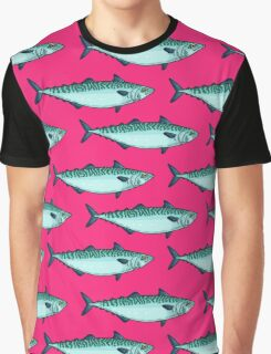 Tasty mackerel pattern Graphic T-Shirt