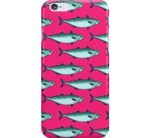 Tasty mackerel pattern iPhone Case/Skin
