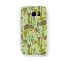 Green vegetables pattern. Samsung Galaxy Case/Skin