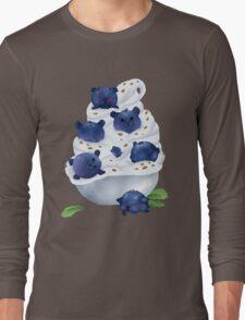 Blue Bearries Long Sleeve T-Shirt