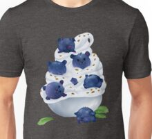 Blue Bearries Unisex T-Shirt