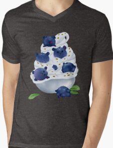 Blue Bearries Mens V-Neck T-Shirt