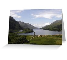 Glenfinnan Monument Greeting Card