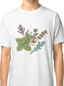 dark herbs pattern Classic T-Shirt