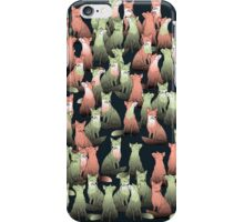 Sleeping foxes iPhone Case/Skin