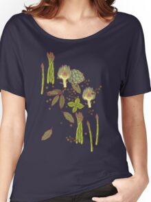 spring asparagus Women's Relaxed Fit T-Shirt