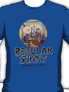 REGULAR SHOW (black) T-Shirt
