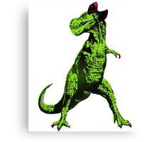 Daisy the T-Rex Canvas Print