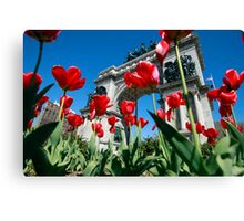 Soldiers and Sailors Canvas Print