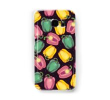 epic bell peppers in space Samsung Galaxy Case/Skin