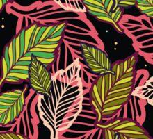 Forest at night Sticker