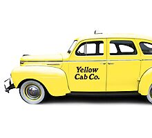 NYC Yellow Taxi Cab Photographic Print