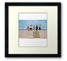 The Perks of Being a Wallflower Cast Framed Print