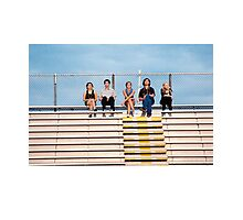 The Perks of Being a Wallflower Cast Photographic Print