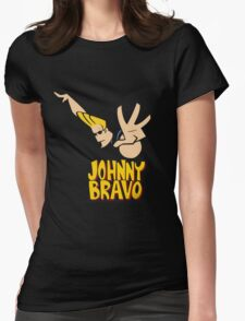 johnny_bravo Womens Fitted T-Shirt