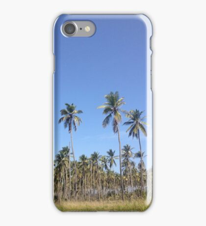 Coco Trees  iPhone Case/Skin