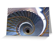 Icelandic hotel staircase Greeting Card