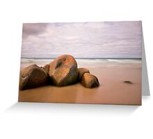 Beer Barrel Beach Greeting Card