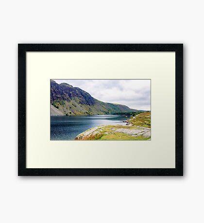 Wastwater, Lake District National Park, UK Framed Print