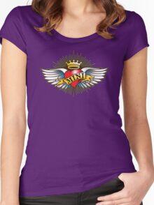 I HART MINI Women's Fitted Scoop T-Shirt