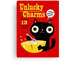 Unlucky Charms Canvas Print