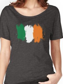 Ireland - Paint Splatter Women's Relaxed Fit T-Shirt