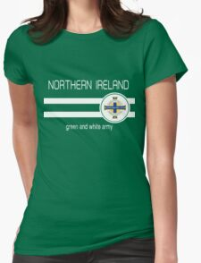 Euro 2016 Football - Northern Ireland  Womens Fitted T-Shirt