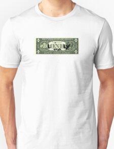 Lonely Star Dollar Bill Unisex T-Shirt