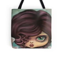 Goth Angel Girl - Angel of Darkness Tote Bag