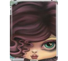Goth Angel Girl - Angel of Darkness iPad Case/Skin