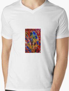Weave Mens V-Neck T-Shirt