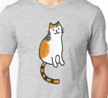 Smiling Calico Cat Unisex T-Shirt