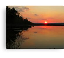 A PERFECT ENDING Canvas Print