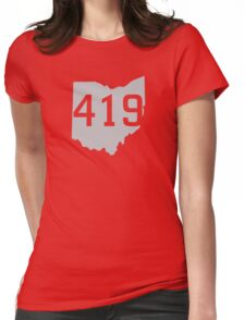 419 Pride Womens Fitted T-Shirt